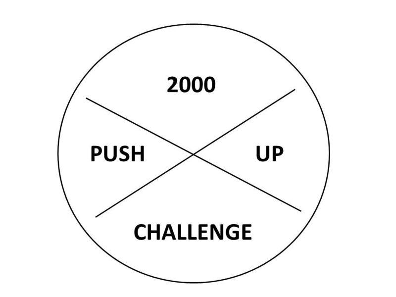2000 Push Up Challenge