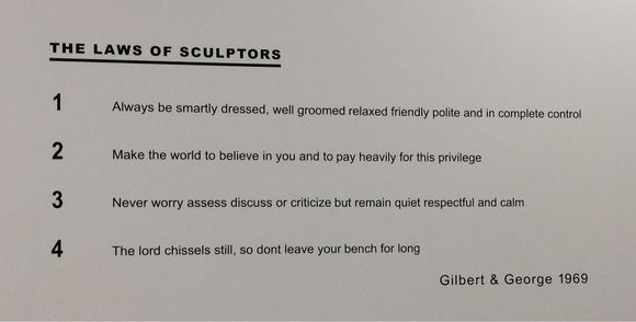 The Laws of Sculptors