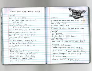 Lyricsnotebookholdyou